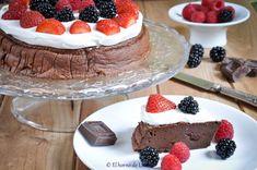 #Receta: #tarta de queso y #chocolate #singluten - Chocolate #Cheesecake #glutenfree