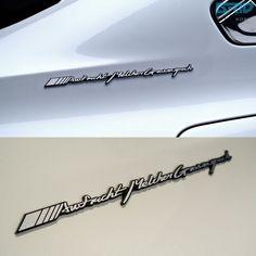 #Detailkorea #Grid #Car Full #Name #Cursive #Lettering #Emblem for #Mercedes_Benz & #AMG