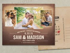 Hey, I found this really awesome Etsy listing at https://www.etsy.com/listing/214173702/wedding-save-the-dates-photo-magnets