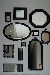 Wall Of Mirrors wall of mirrors | home ideas | pinterest | walls, living room