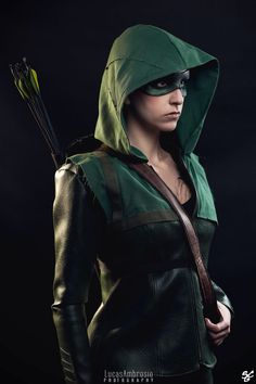 The CW Arrow cosplay.