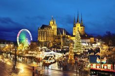 Erfurt's Christmas Market (I've been to this!)