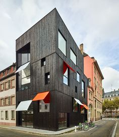 Offices and housing Strasbourg  / Dominique Coulon & associés