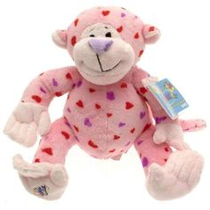 Webkinz Plush Stuffed Animal Love Monkey, valentine *** To view further for this item, visit the image link. (This is an affiliate link) #StuffedAnimalsPlushToys