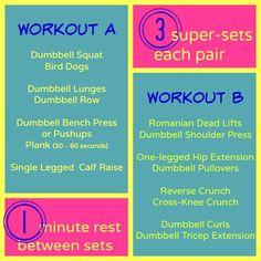 Full-body super sets for a super workout! | Fit Bottomed Girls