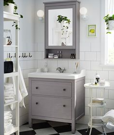 A Traditional Approach To A Tidy Bathroom The IKEA HEMNES Bathroom Series Ha