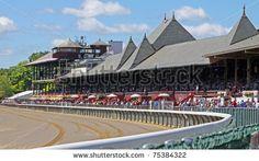 Saratoga Springs, Ny - Aug 27, 2010: Historic Saratoga Race Course ...