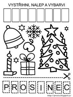 Pro Šíšu: Období ZIMA Advent, Crafts For Kids, Logos, Character, Crafts For Children, Kids Arts And Crafts, Logo, Kid Crafts, Lettering