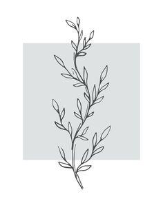 Set of three botanical prints in gray palette, Set of three 16x20, A1 gray prints, Nursery wall art print, Minimalist Wall Decor