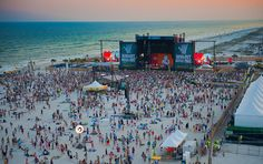 HangOut Fest on the beach in Gulf Shores, Alabama