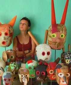 my heads: Stephen SPrake, 22 church Street London NW8 8EP | Cecile PERRA plasticienne: cecile.perra@wanadoo.fr