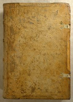The Morgan Library & Museum - Incunable Bookbinding - PML 34639 - Front cover, outside