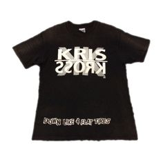 RARE VINTAGE KRIS KROSS T SHIRT TLC HIP HOP RAP 1992 DOWN LIKE 4 FLAT TIRES