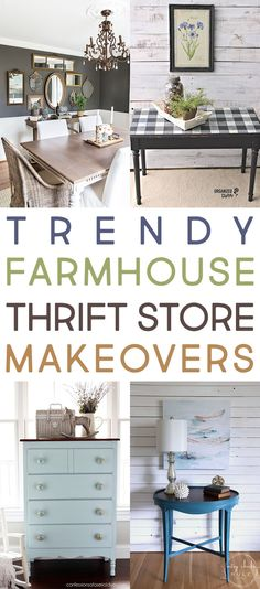 Time for yet another Trendy Farmhouse Thrift Store Makeover Collection! Can you believe that they just keep on coming. I know I for one am amazed! I really think you are going to love all of these and be very inspired because the ideas are just so original. You are going to want to get …