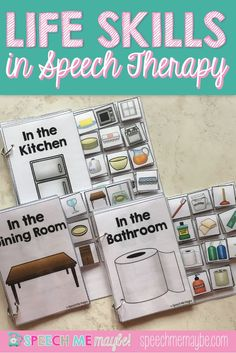 Teaching functional life skills is essential when working with our students. This product aims to make that easy and fun! This bundle pack includes: Life Skills: In the Kitchen Life Skills: In the Dining Room Life Skills: In the Bathroom