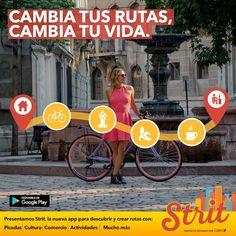 strit-app Strit una aplicación que permitirá recorrer ciudades de un modo social