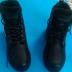 Brand new boots. What's your price? Sean John designer urban boots with fur inside. 8.5, 9.5 and 10 Sean John Shoes Lace Up Boots