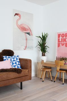 IXXI flamingo | Elske | www.elskeleenstra.nl