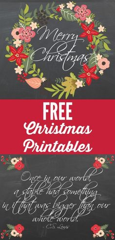These free Christmas printables are absolutely stunning. Get them for free at Designer Trapped in a Lawyer's Body! These free Christmas printables are absolutely stunning. Get them for free at Designer Trapped in a Lawyer's Body! Noel Christmas, Christmas Projects, Winter Christmas, All Things Christmas, Holiday Crafts, Holiday Fun, Christmas Posters, Christmas Nativity, Christmas Ideas