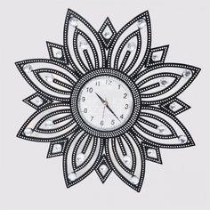 Elmas İşlemeli Saat  https://www.benimicinozelsin.com/aksesuar/elmas-islemeli-duvar-saati-2 #benimiçimözelsin #hediye #saat #saatmodelleri #saatler