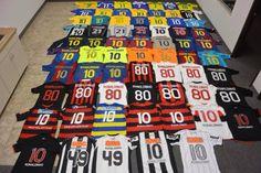 La Mirada De Un Coleccionista : Colecciones de camisetas de fútbol de Ronaldinho