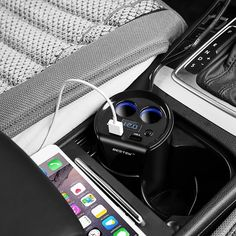 Buy online US $16.22  12-24V 3.1A Dual USB Car Charger Adaptor With Voltage Current Display Charger Car Cup Holder 2 Sockets Cigarette Lighter Adapter  #Dual #Charger #Adaptor #Voltage #Current #Display #Holder #Sockets #Cigarette #Lighter #Adapter  #OnlineShop