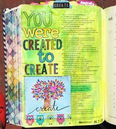 Bible journaling, Isaiah 64: 8 — Arden Ratcliff-Mann #illustratedfaith