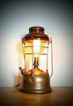 AMC77 Electric brass Tilley lamp