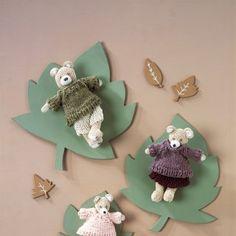 Tricoter un doudou lapin - Marie Claire Idées