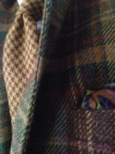 Tweed rustic colours