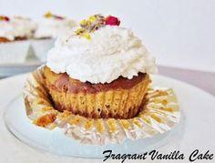 Gluten Free Sugar Free Vegan Marble Cupcakes.  Stevia for sweetener