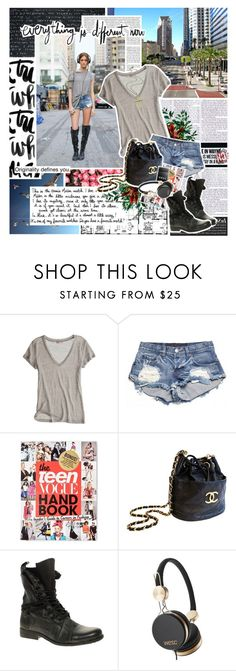 """""""you know how I feel ... ♫"""" by rafaelatomars ❤ liked on Polyvore featuring Garance Doré, Unis, Calypso St. Barth, OneTeaspoon, Teen Vogue, Chanel, River Island, WeSC and Iva"""