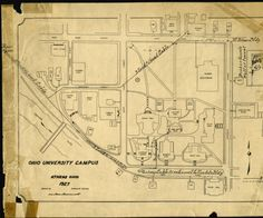 Richland Community College Campus Map.60 Best Aerial Views And Maps Of The Ohio Campus Images Aerial