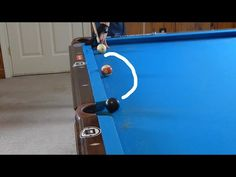 Simple Spin Shots Tutorial Billiards LEISURE Pinterest Spin - Masse pool table