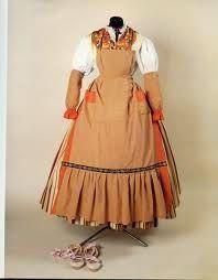 ENTRE TELAS: MODELOS DE INDUMENTARIA TRADICIONAL VALENCIANA Historical Costume, Historical Clothing, Spanish Costume, European Dress, Apron, Costumes, Regional, Clothes, Dresses