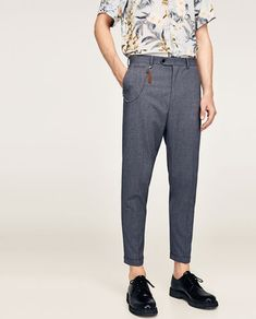 Image 2 of CARROT FIT TROUSERS from Zara