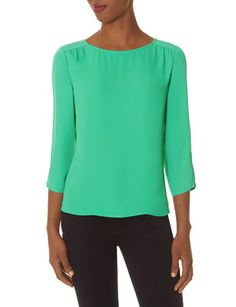 Boatneck Blouse from THELIMITED.com