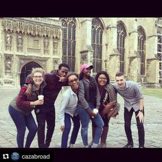 Our students are having an amazing time exploring Canterbury during their first week. Check out more from their study abroad experience by following @CazAbroad 🇬🇧 #CazAbroad16 #CazCollege #studyabroad