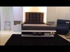 Łóżko Chowane w szafie , Murphy Bed