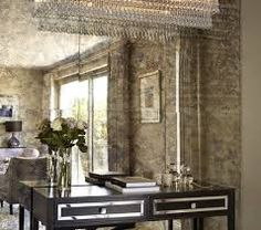 antique mirror splashback - Google Search