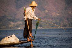 Lake Inle fisherman, Myanmar