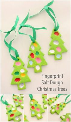 adorable christmas decorations easy to make great kids craft project preschool christmas christmas - Childrens Christmas Tree Decorations
