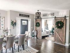 Farmhouse Interior, Home Interior, Interior Decorating, Interior Design, Modern Farmhouse Decor, Interior Ideas, Home Living Room, Living Room Decor, Home Fashion