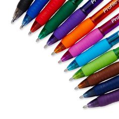 Paper-Mate-Profile-Retractable-Ballpoint-Pens-Ballpen-Assorted-Colors-12-Count