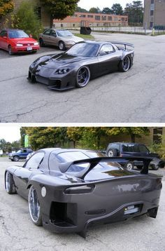 #mazda #rx-7 #veilside ... I once fell in love with her.. And still am!