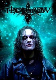 Eric Draven(Brandon Lee)The crow The Crow, Brandon Lee, Bruce Lee, Dark Fantasy, Fantasy Art, Crow Movie, Crow Art, Comic Kunst, Kate Beckinsale
