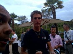 Andy #schleck before dinner #TDF