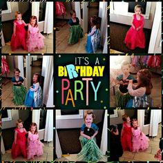 These 2 little birthday girls were absolutely  ADORABLE! What fun! Happy 3rd Birthday girls!