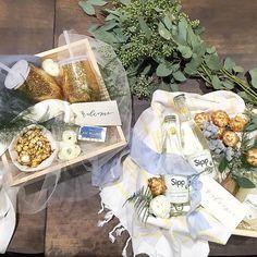 "Marigold & Grey™ on Instagram: ""Plowing through six #styledshoot #giftdesigns in one day. Thanks for the incredible help @katherine_marigoldgrey and @redoctoberphotography! #bingestyling #bridalshow #styledshoots #photoshoot #styling #giftdesign #customgift #giftbox #artisan #smallbatch #wedding #welcomegift #bride #groom #engaged #engagement #weddingplanning #marigoldgrey #lovewhatyougift"""