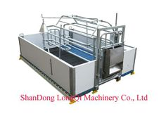 Pig equipment- Pig Farrowing crate with PVC Plank fence - China Pig equipment, LQ